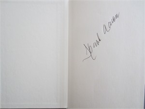 Hank Aaron autographed 500 Home Run Club hardcover book