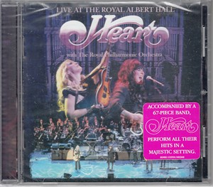 Heart Live at the Royal Albert Hall CD (BRAND NEW AND SEALED)