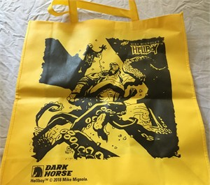 Hellboy Dark Horse Comics 2018 San Diego Comic-Con tote bag