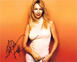 Heather Locklear autographed 8x10 photo