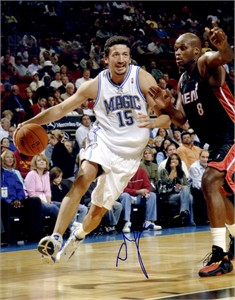 Hedo Turkoglu autographed Orlando Magic 8x10 photo