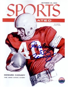 Howard (Hopalong) Cassady autographed Sports Illustrated cover 8x10 print