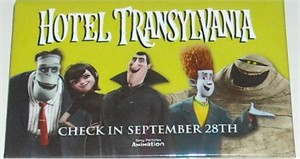 Hotel Transylvania movie 2012 Comic-Con promo button or pin MINT
