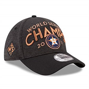 Houston Astros 2017 World Series Champions official New Era locker room cap or hat NEW