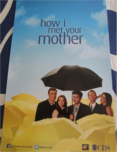 How I Met Your Mother 2013 Comic-Con 11x17 promo poster MINT