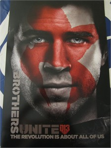 Hunger Games Mockingjay Part 2 movie set of 2 2015 mini 13x20 promo posters