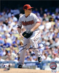 Ian Kennedy autographed Arizona Diamondbacks 8x10 photo (MLB authenticated)