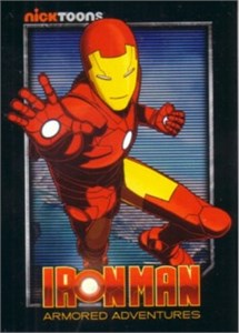 Iron Man Armored Adventures 2010 Comic-Con promo card