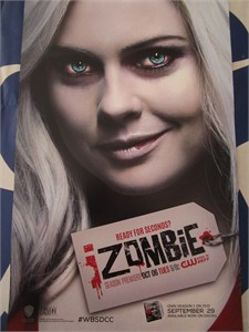 iZombie 2015 Comic-Con exclusive mini 11x17 CW promo poster MINT