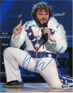 Jack Black autographed 8x10 photo (Beckett Authenticated)