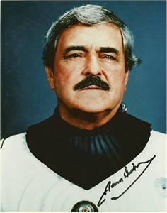 James Doohan autographed Star Trek 8x10 photo