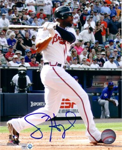 Jason Heyward autographed Atlanta Braves 8x10 photo (MLB authenticated)