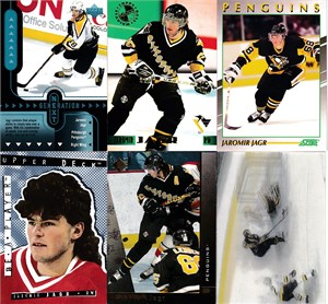 Jaromir Jagr Penguins 1998-99 Generation Next insert card #GN22