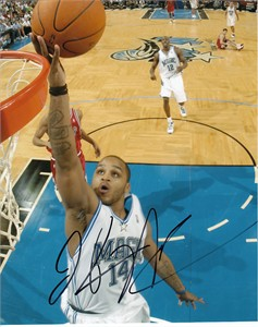 Jameer Nelson autographed Orlando Magic 8x10 photo