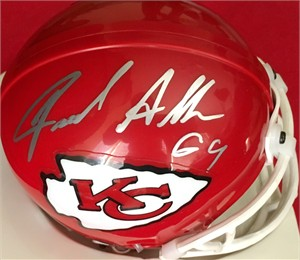 Jared Allen autographed Kansas City Chiefs mini helmet
