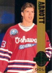 Jason Arnott 1993 Classic 4-Sport Gold card (1 of 3900)