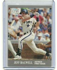 Jeff Bagwell 1991 Ultra Update Rookie Card #U79