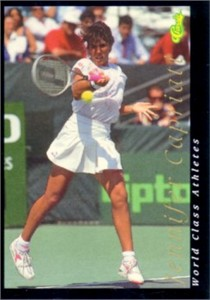 Jennifer Capriati 1992 Classic World Class Athletes card