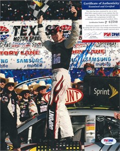 Jeff Gordon autographed July 2000 Beckett Racing magazine cover