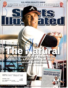 Jeff Francoeur autographed Atlanta Braves 2005 Sports Illustrated