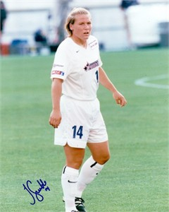 Jen Grubb autographed 8x10 WUSA Washington Freedom photo