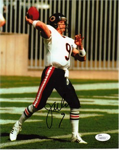 Jim McMahon autographed Chicago Bears 8x10 photo (JSA)