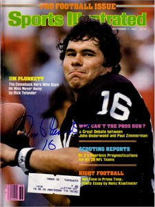 Jim Plunkett autographed Oakland Raiders 1981 Sports Illustrated