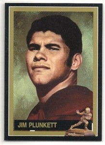 Jim Plunkett Stanford Cardinal Heisman Trophy winner card