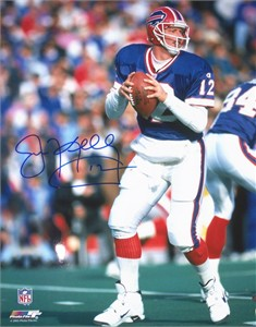 Jim Kelly autographed Buffalo Bills 16x20 poster size photo