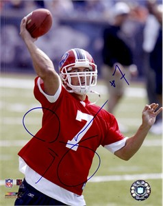 J.P. Losman autographed 8x10 Buffalo Bills photo