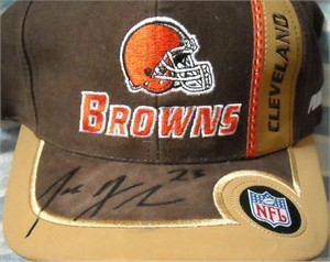 Joe Haden autographed Cleveland Browns cap or hat