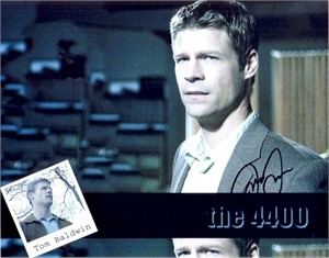 Joel Gretsch autographed The 4400 8x10 photo