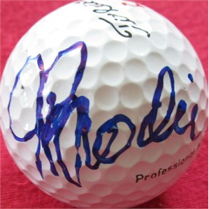 John Brodie autographed golf ball