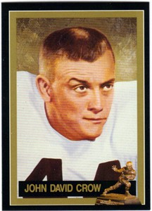 John David Crow Texas A&M Heisman Trophy winner card