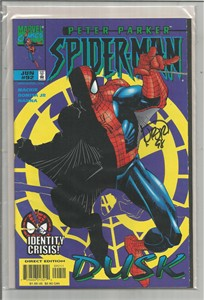 John Romita Jr. autographed Spider-Man 1998 comic book issue #92