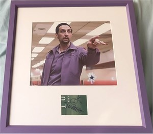 John Turturro autograph matted & framed with Jesus Quintana Big Lebowski 8x10 movie photo