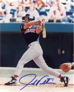 John Valentin autographed 8x10 Boston Red Sox photo