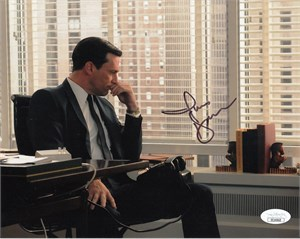 Jon Hamm autographed Mad Men 8x10 photo (JSA)