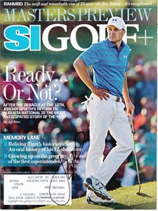 Jordan Spieth autographed 2017 Sports Illustrated Golf Plus magazine