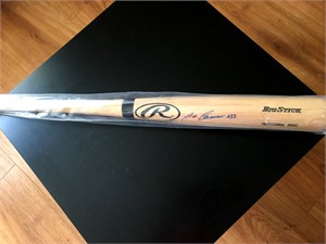 Jose Canseco autographed Rawlings Big Stick bat