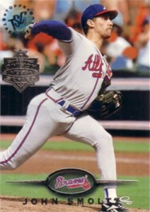John Smoltz Braves 1995 Stadium Club Super Team card MINT
