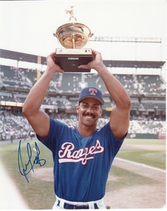 Juan Gonzalez autographed Texas Rangers 1993 All-Star Home Run Derby 8x10 photo