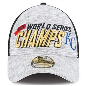 Kansas City Royals 2015 World Series Champions official New Era locker room cap