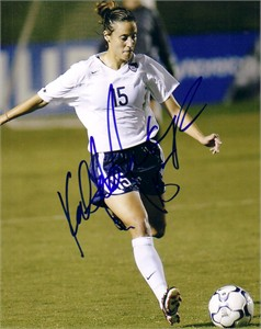 Kate (Sobrero) Markgraf autographed US Soccer 8x10 photo