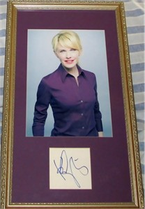 Kathryn Morris autograph matted & framed with Cold Case 8x10 photo