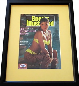 Kathy Ireland Autographed 1989 Sports Illustrated Swimsuit