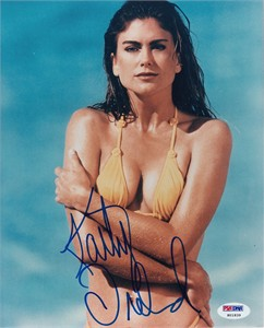 Kathy Ireland autographed Sports Illustrated Swimsuit 8x10 photo PSA/DNA
