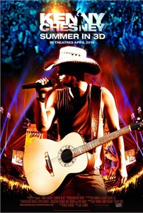Kenny Chesney Summer in 3D 2010 mini 11x17 promo poster