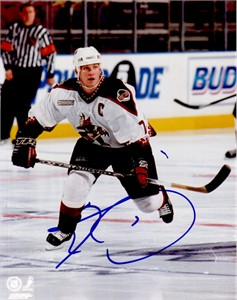 Keith Tkachuk autographed Phoenix Coyotes 8x10 photo
