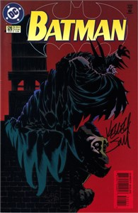 Kelley Jones autographed Batman 1996 DC comic book issue #524